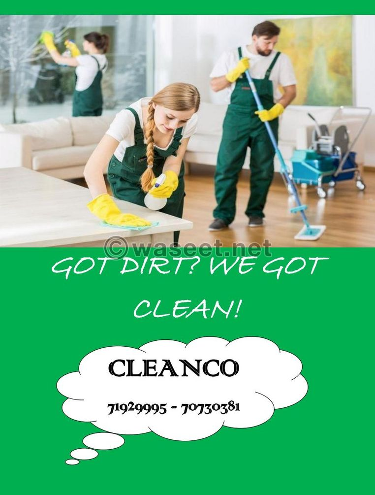 Cleaning service 1