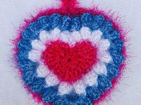 crochet handmade pad wash dishes 0