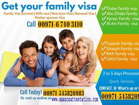 Family Visa Services Wife Children Parents Maid visas 4