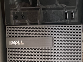 One Month Old PC Computer Dell Optiplex 12