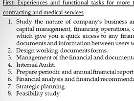 Finance manager Looking For Job 9
