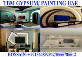 Gypsum ceiling partition work contractor in Dubai Ajman Sharjah 4