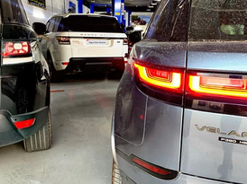 range rover and land rover maintenance in sharjah 0