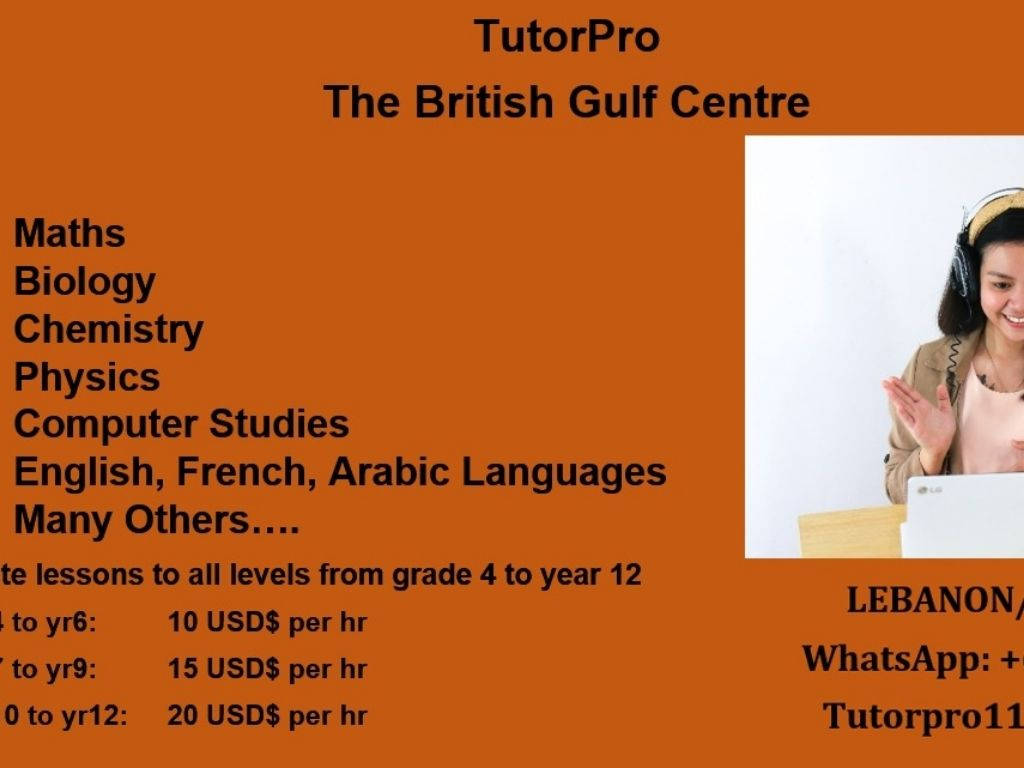 British Gulf Institute for private lessons online 9