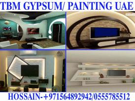 Gypsum ceiling partition work contractor in Dubai Ajman Sharjah 14
