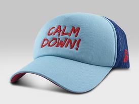 Calm Down Cap  Blue and Red Caps in Dubai 15
