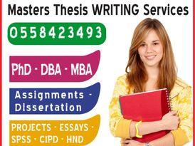 DBA-PhD-MBA Assignment Thesis-Business Plan