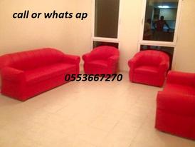 Leather sofa Set Ad PVC Brand new 1