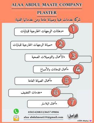شركة علاء عبدالمعطي لخدمات الصيانة العامة