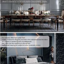 Decoration and interior design contracts, modern and classic decorations1