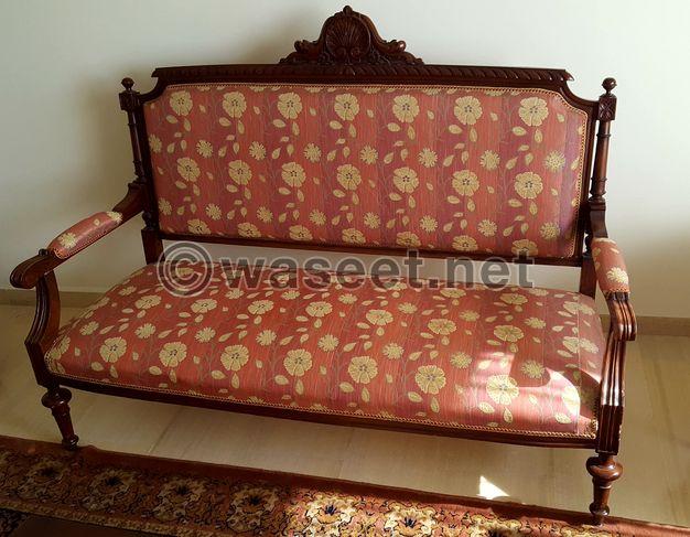 Antique salon Louis XVI style For Sale