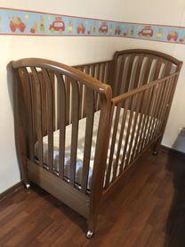 سرير للاطفال مع فرشة  FAP و cover