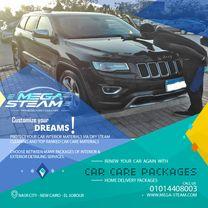 Mega Steam for Car Care & Auto Detailing0