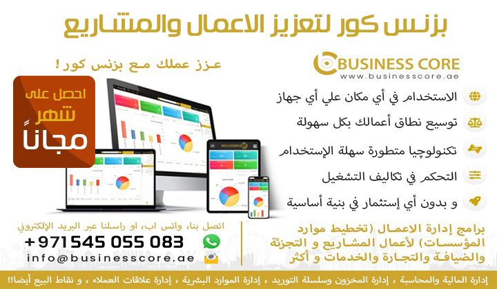 Business core business promotion projects