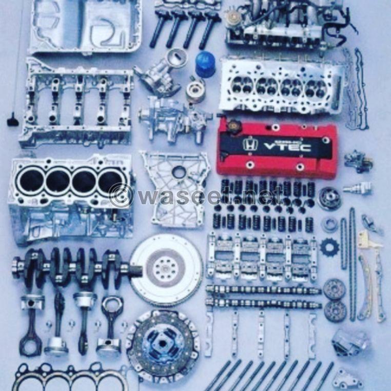Honda Accord and Civic used spare parts 0