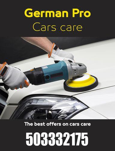 German Pro for car polishing