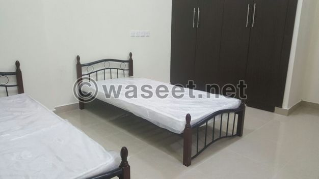 مساحة السرير المتاحة