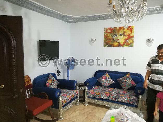شقه 125متر للبيع بطنطا شارع سعد الدين س لوكس