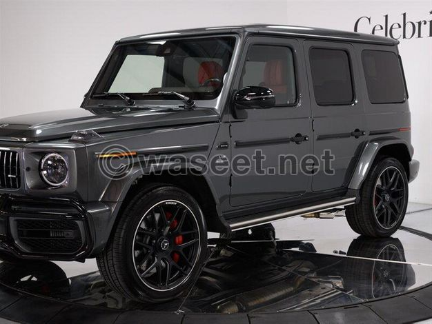 8 IN NEW  2019 Mercedes-Benz G-Class AWD AMG G 63 4MATIC
