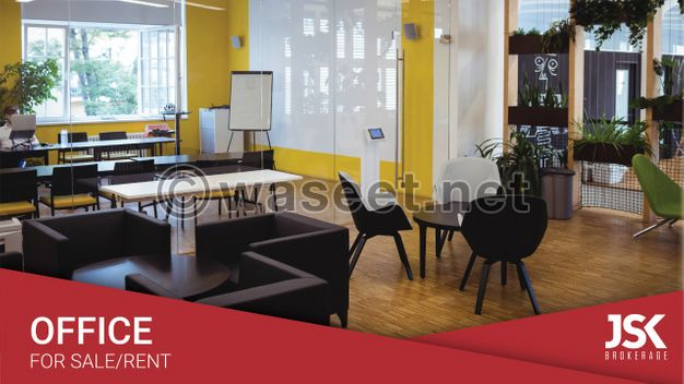 Furnished Office For Rent In a Prime Location In Jbeil-l05130