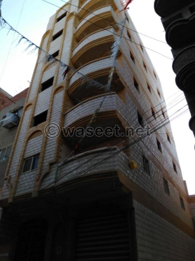 شقق بأرخص سعر في كفر الشيخ شارع الفردوس متفرع من شارع الترعه