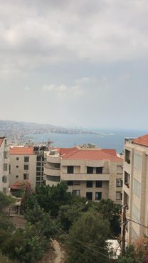 duplex for sale  with open sea view 150 m