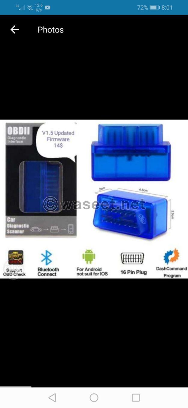 OBD2 Scanner V1.5 updated special offer