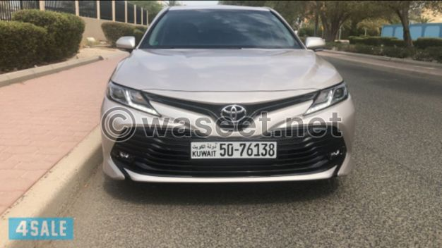 Toyota Camry 2019 for sale in cash or instalment
