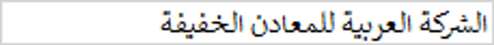 الشركة العربية للمعادن الخفيفة1