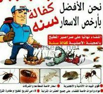 مكافحة الحشرات بجميع أنوعها0