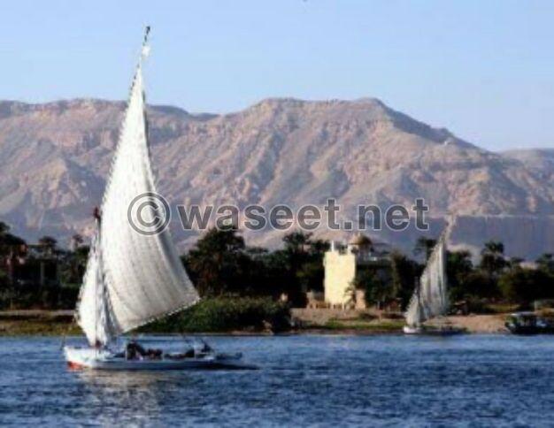 للبيع ارض 450م على النيل بالاقصر