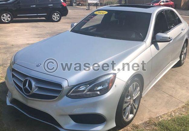 2014 for sale Mercedes Benz E CLASS