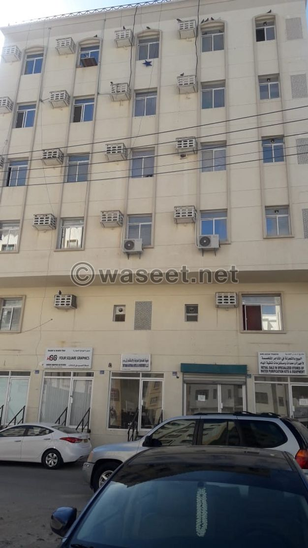 Flat 1 bhk for rent in mbd area in ruwi