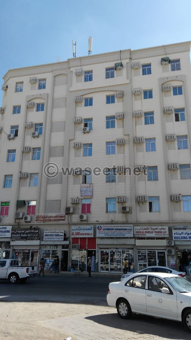 Flat 1 bhk for rent in hond road in ruwi