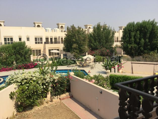 Good Condition 3BR Townhouse In Hamra Village-Pool View
