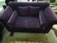Sofa set in good condition with table 1