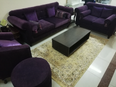 Sofa set in good condition with table 2