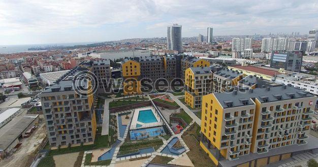 تملك شقة في احد افضل مشاريع اسطنبول الاوربية
