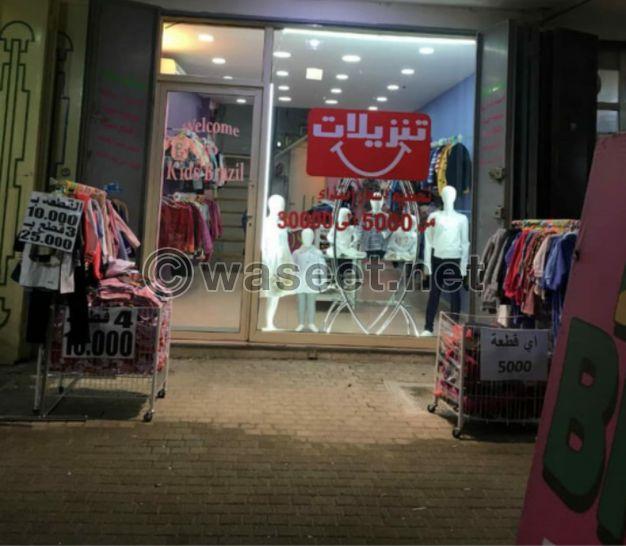 محل طابقين للاستثمار في ابي سمراء مرج الزهور