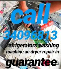 refrigerators and machines Repair