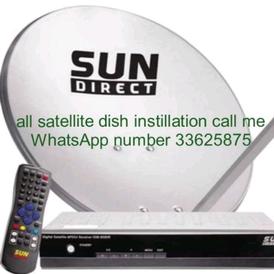 satellite dish WIFI instillation