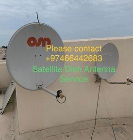 خدمة بيع وتركيب جهاز استقبال طبق الأقمار الصناعية