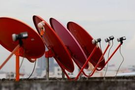 satellite dish selling and installation