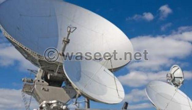 satellite fixing