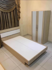 single Bed and cupboard for sale
