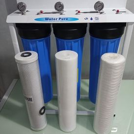 the 3 Stages Big Blue or Jumbo Water filter