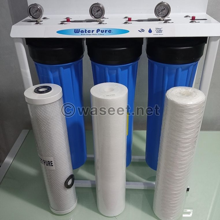 the 3 Stages Big Blue or Jumbo Water filter 0