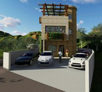 uncompleted villa in achkout with 150 sqm garden