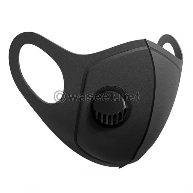 washable dust mask with valve