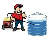 watertank cleaning